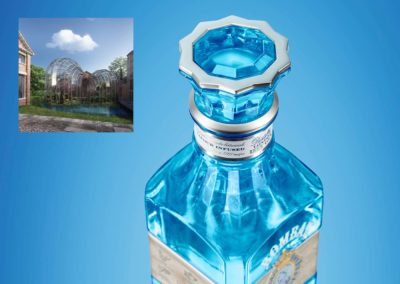 Bombay Sapphire Distillery Edition : Inspiration architecturale