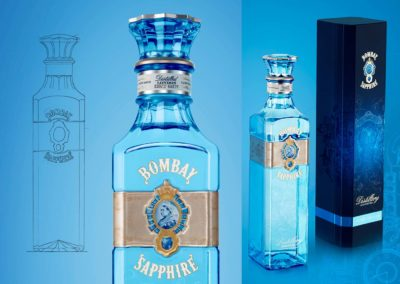 Bombay Sapphire Distillery Edition : Bouteille et packaging
