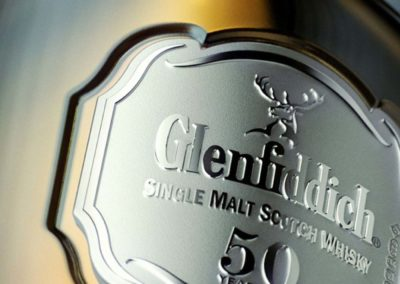 Glenfiddich 50 ans : Badge