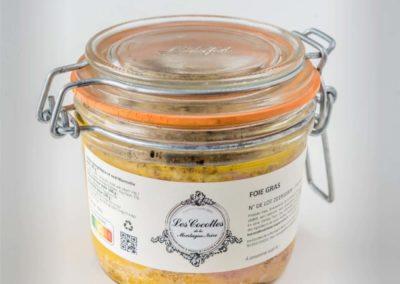 Les Cocottes de la Montagne Noire : Logo sur le packaging de foie gras