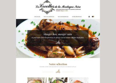 Les Cocottes de la Montagne Noire : Adaptation du logo pour le site internet