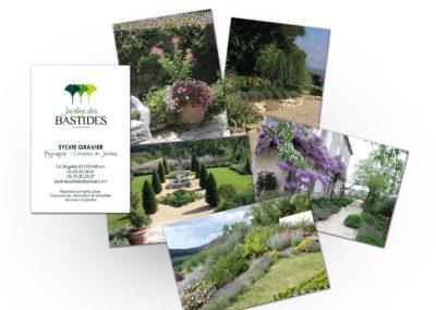 Jardin des Bastides : Carte de visite