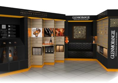 Glenmorangie Prestige Collection : Espace de vente