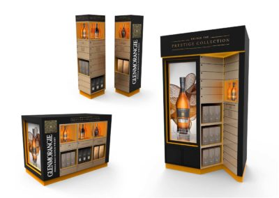 Glenmorangie Prestige Collection : Stands
